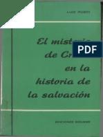 Rubio Morán, Luis - Misterio de Cristo en La Historia de Salvación