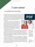 Med Fjell Som Venner - En Samtale Med Arne Næss