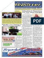 The Village Reporter - August 27th, 2014