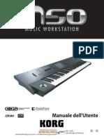 Korg M50 manuale italiano