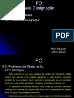 Problema+da+Designação