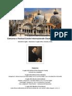 Claudio Monteverdi Choral Competition 2015 Regolamento ITALIANO