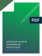 Antologia de Taller de Herramientras Intelectuales