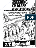 38805110 Engineering Rock Mass Classifications