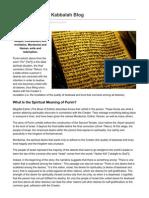 What is Purim Kabbalah Blog