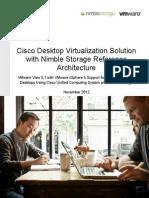 Nimblestorage Cisco Vmware Vdi Ref Architecture