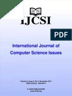 Ijcsi Vol 8 Issue 6 No 3
