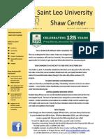 2014 Fall Shaw Newsletter