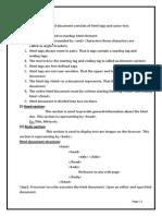 Basics to master HTML