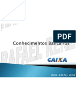 Slides CEF ConhecimentosBancarios RafaelRenz