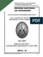 Dibuijo Tecnico Geometria Descriptiva 2013_II.pdf
