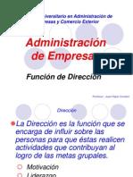 Direccion y Regilla Adminstrativa