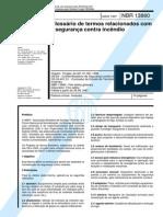 NBR13860 1997 Glossário-Segurança Contra Incêndio
