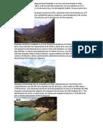 El Parque Nacional Archipiélago de Juan Fernández Es Un Área Natural Protegida en Chile