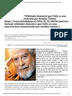 """El Ciudadano » Patricio Herman_ """"Wikileaks Demostró Que Chile Es Una Mascota Bien Domesticada Por Estados Unidos"""""""