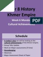 week 3 - cultural achievements