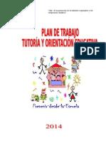 Plan de Tutoria Leoncio Prado 2014-1