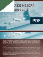 Ruta de Mejora Final 2014-2015