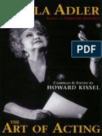 Stella Adler - The Art of Acting_ Preface - Howard Kissel