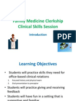 Family Medicine Clinical Skills Session 2014 (2)
