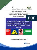 Guia Tec. Señales y Avisos Protec.n Civil p Estab. Salud El Salv. Copy