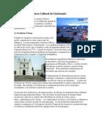 Patrimonio o Recurso Cultural de Guatemala