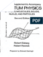Solutions Quantum Physics - R. Eisberg & R. 2nd Resnick