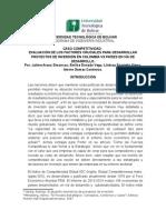 Evaluacion de Los Facotres Cruciales Para Desarrollar Proyectos de Inversion en Paises en via de Desarrollo