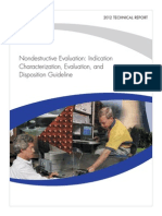 Nondestructive Evaluation Indication, Evaluatio and Disposition Guide Lines