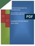 Diagnostico de Salud Umf 11 Nochistlan Mpssfernando Olivares Ramirez