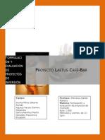 1.Proyecto Laetus Café- Bar