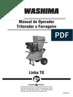 Manual Triturador e Forrageiro Linha TG_V2