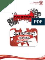 Plan de Trabajo 2014-2015 Club Rotaract Olmeca de Villahermosa.