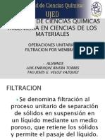 Filtracion Por Membrana [Reparado]