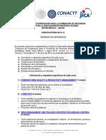 Terminos Ref Conv Estancias Tecnicas Japon-2014-2