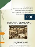 Diapositivas Senado Romano