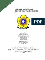 Cover Praktikum Kimia Dasar II