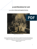 Readings and Devotions for Lent