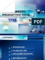 Tpm Mantenimiento Productivo Total 2011 - i