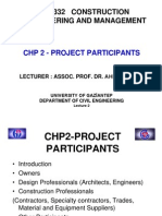 CHP2 Project Participants