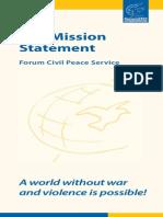 ForumZFD Mission Statement (2013)