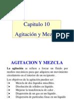 10. Agitación y Mezcla