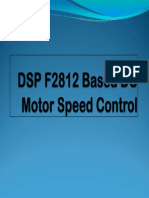 Dsp f2812 Based Dc Motor Speed Control_ppt