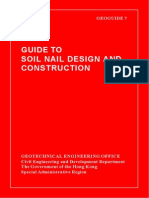 Guide to Soil Nail Design and Construction