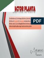 Factor Planta
