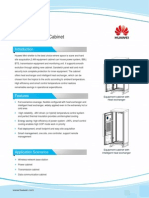 Huawei Mini-shelter 2.4M Equipment Cabinet Datasheet