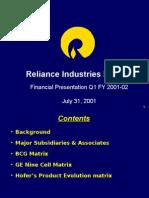 65260881 Presentation Reliance Industries Ltd