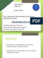 Sociologia de La Vejez