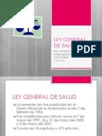 Ley General de Salud 482