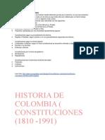 Clases de Constituciones